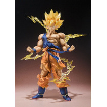 Boneco Goku Ssj Anime Dragon Ball Z Action Figure Bandai