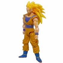 Goku Sayajim 1 Dragon Ball Z Totalmente Articulado Boneco