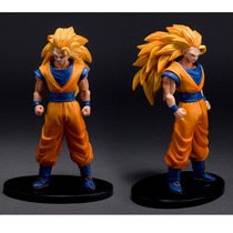 Boneco Dragon Ball Z Goku Ssj3 - A Pronta Entrega