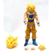 Dragon Ball Z Boneco Action Figure Goku Super Sayajim 3