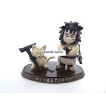 Boneco Gashapon Dragon Ball- Yajirobe E Karin