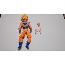Boneco Articulado Dragon Ball- Goku Ssj