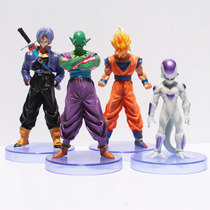 Miniaturas Dragon Ball Z Figures Bonecos Goku Freeza Trunks