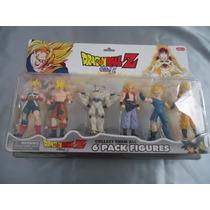 Bonecos Dragon Ball Kit C/ 6 Figuras Dragon Ball Z Anime