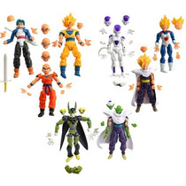 Kit 8 Bonecos Dragon Ball Z