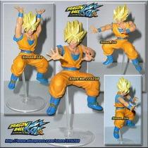 Boneco Gashapon Drgaon Ball- Goku Ssj Articulado