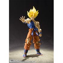 Boneco Goku Super Saiyajin Warrior Dbz Bandai Sh Figuarts