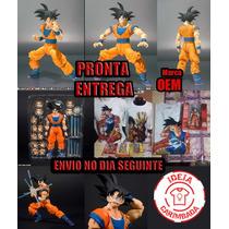 Action Figure Dbz Goku Sh Figuarts - Pronta Entrega Brasil