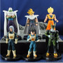 Kit Com 6 Bonecos Dragon Ball Z Kai Dbz Goku
