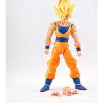 Boneco Goku Dragon Ball Articulado Pronta Entrega