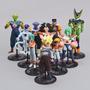 Coleção Dragon Ball 10 Peças - Goku Freeza Bulma
