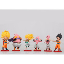 Kit C/ 6 Bonecos Dragon Ball Z Serie Majin Boo - Ed Limitada