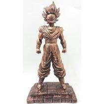 Boneco Goku Drago Ball Z Estátua Em Resina