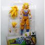 Dragon Ball Z - Boneco Goku Ssj 3 + Itens Para Troca