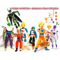 Boneco Dragon Ball Z Articulados Cada Freeza Kuririm Goku