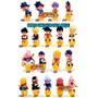 Bonecos Miniaturas Dragon Ball, Naruto, Final Fantasy!