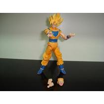 Goku Sayajim Dragon Ball Z Gohan Vegeta 4 Bonecos Dbz