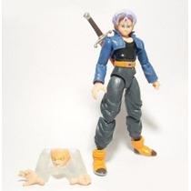 Trunks Dragon Ball Z Boneco Totalmente Articulado Dbz Kai