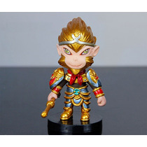 Lol League Of Legends Wukong Figure Boneco Com Base Pvc