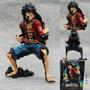Action Figure Luffy Armaments One Piece 18cm Frete Grátis