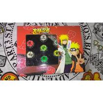 Naruto - Pacote Com 10 Aneis + Colar Akatsuki De Brinde!