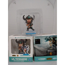 Lol League Of Legends Tryndamere Figure Boneco Com Base Pvc