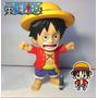 Boneco Cofre Luffy Ruffy One Piece Mokey Figure Anime 25 Cm