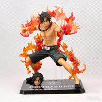 Boneco Portgas D. Ace Anime One Piece - 14cm Pronta Entrega