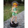 Boneca Gainax Menina Com Flor Importada Anime Manga Gachapon