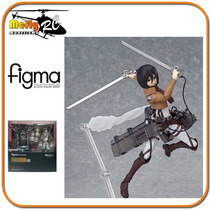 Figma Attack On Titan Mikasa Ackerman 203 Max Factory