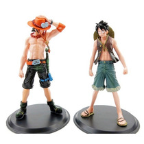 One Piece Bonecos Monkey D Luffy, Portgas D Ace Anime Figure