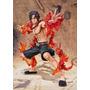 Estátua Portgas D. Ace Battle Version - One Piece Importada