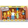 Figuras De Ação Simpsons Família Boxed Set Sf-301