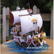 Miniatura One Piece - Barco Thousand Sunny - 15 Cm