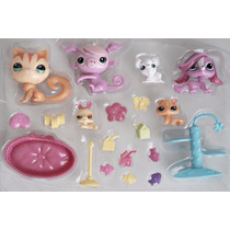 Littlest Pet Shop Kit Hapy 21 Peças Pronta Entrega