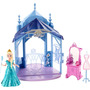Boneca Disney Frozen Mini Castelo Com Elsa - Mattel