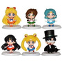Kit 6 Pçs Sailor Moon Petit Chara V3 Gakuen Uniforme Escolar
