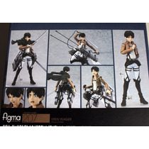 Figma Eren Attack On Titans Ver. China Pronta Entrega Figure