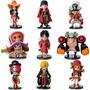 9pcs One Piece Anime O Novo Mundo Z Luffy Nami Brook Zero Pv