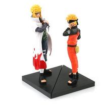 Kit 2 Bonecos Naruto E Minato - Shinobi Relations - Pronta
