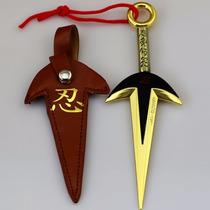 Kunai Do Minato Acessorio Cosplay De Ferro Dourado Naruto