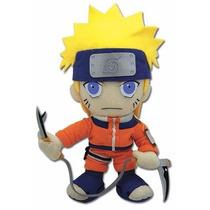 Naruto Pelúcia Original Colecione! 22cms Ge Animation