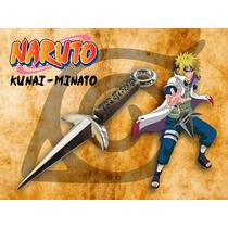 Kunai - Minato - Naruto - Feito Em Metal - Pr