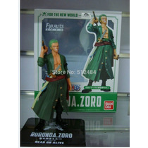 Boneco Roronoa Zoro One Piece Anime Actionfig Pronta Entrega