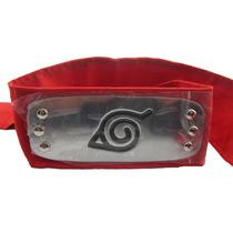 Bandana Naruto Aldeia Da Folha Konoha Vermelha