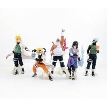 Kit 5 Bonecos Naruto, Sasuke, Itachi, Killer Bee, Minato