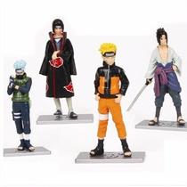 Bonecos Naruto Shippuden Sasuke Itachi Kakashi E Naruto