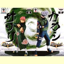 Kit 2 Bonecos Kakashi E Sasori 17 Cm - Figure Anime Manga