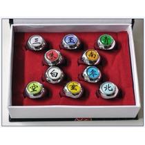 Anéis Akatsuki Naruto Caixa Com 10 Fretegrátis Prontaentrega