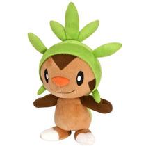 Pelúcia Pokémon Chespin 20cm